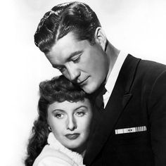 Barbara Stanwyck and Dennis Morgan Christmas in Connecticut, 1944