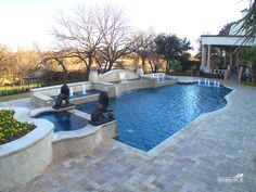 Formal / Geometric Pool #039 by Southernwind Pools
