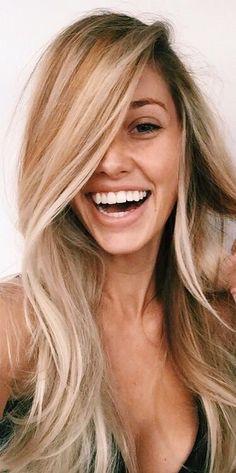 Long blonde summer hair. ▲HealthyBoho