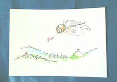 Kunstraub Nr. 18 - KunSTrich (1 Postkarte) von Ute´s Fauna und Flora auf DaWanda.com