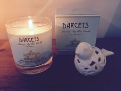 Limited edition nectarine and honey soy wax candle. Absolutely in love #soywax #darceys #darceysaddict