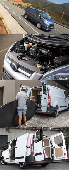 Ford Transit Custom Van Offers the Duratorq TDCi Engine Transit Custom, Custom Vans, Ford Transit, Commercial Vehicle, Camper, Transportation, Size 2, Engineering, Challenges