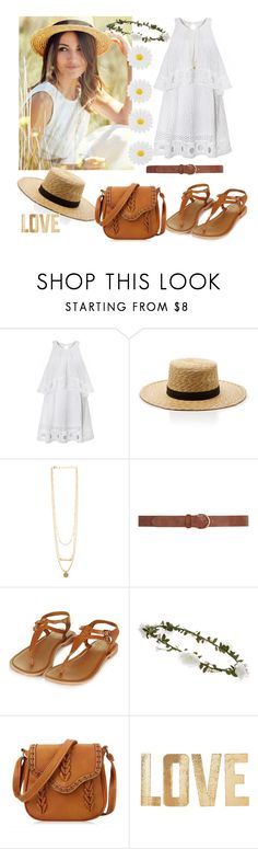 """""""Untitled #16"""" by zejna-husic ❤ liked on Polyvore featuring Janessa Leone, Dorothy Perkins, Topshop, Accessorize, PBteen and Monsoon"""