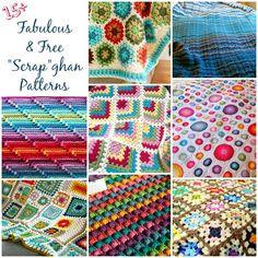 Free Crochet Afghan Patterns  #crochet #afghan #blanket