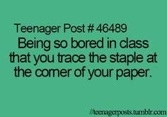 I thought I was the only one