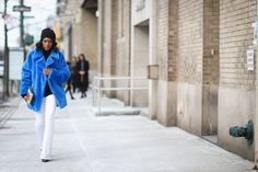 Sometimes less is more, and a few great pieces make Danielle Prescod's minimal look all the more impactful.