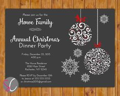 Holiday Party Invitations Free Templates  Downloadable Christmas Party Invitations Templates Free