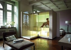 Sauna INIPI Collezione Inipi by DURAVIT Italia | design EOOS
