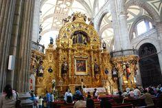 Interior de la Catedral Metropolitana de la ciudad de México México