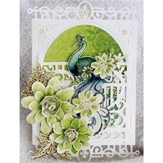 Heartfelt Creations - Peacock Paisley Complete Collection from Create and Craft USA