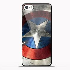 Captain America Shield the First Avenger Design Gno for Samsung Galaxy and Iphone Case (iPhone 5/5S black)