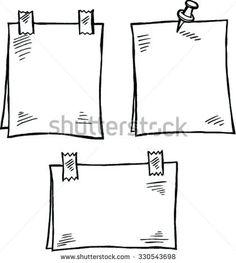 Sketchnotes: Notizzettel malen