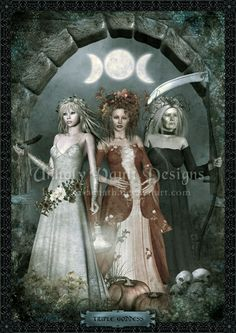 Maiden Mother Crone! Hecate my Goddess