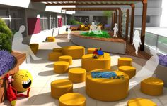 Tarrace for children - design concept by Jaro313.deviantart.com on @deviantART
