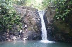 poza azul waterfall dominical costa rica - Bing images