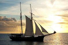 island hop by schooner in seychelles