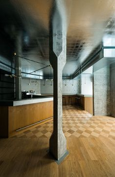 Image 1 of 33 from gallery of Zinnengasse Restaurant / Wuelser Bechtel Architekten. Photograph by Stefan Wülser