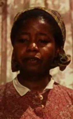 "Butterfly McQueen played the part of 'Prissy' in ""Gone With The Wind""."