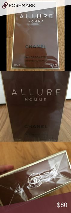 Men's CHANEL allure unopened Men's brand new unopened box of Chanel allure  eau de toilette cologne. Smells unbelievable!! Great gift for the man in your life!! CHANEL Other