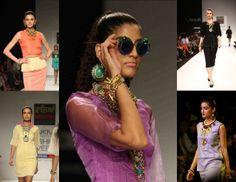 Nitya Arora, Lakme Fashion Week. #nityaarora #lfw #chunky