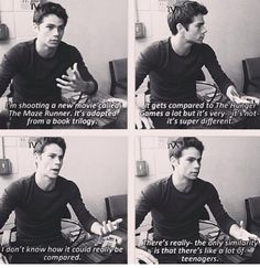 Let's just add this to the list of reasons why I need to marry Dylan O'Brien