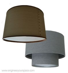 DIY drum shade to hide unsightly ceiling fixture (how-to video)