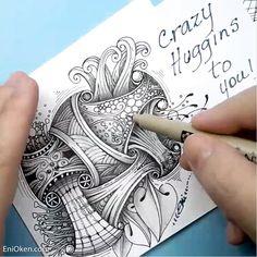 4988 Best Eni s Doodle & Zentangle Art images in 2020
