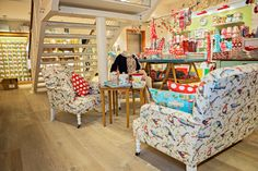 Pull up a chair. Our brand new furniture range has arrived, new and exclusive to #180Piccadilly. Love Cath Kidston....wish they'd open a store in Australia