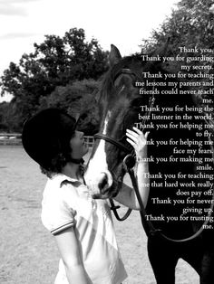 horse quotes for girls | horses horse life gratitude thank you i love you equestrianism