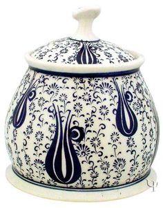 Iznik Design Ceramic Tobacco - Bowl