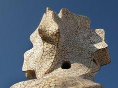 Casa Milà (La Pedrera) by Antoni Gaudí. Barcelona.