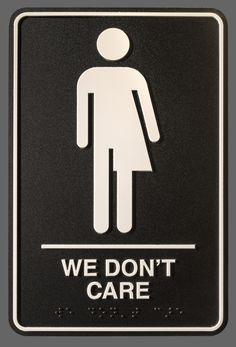 """We Don't Care"" (courtesy Peregrine Honig)"