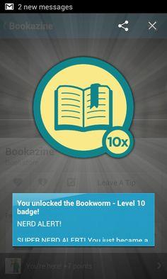 Nerd alert level 10! #4sq Book Worms, Nerd, Apps, Messages, Otaku, App, Geek, Text Posts
