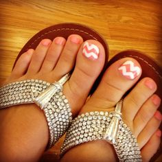 love them (bday toe nails)