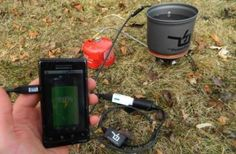 PowerPot - a cooking pot that doubles as a portable electric generator