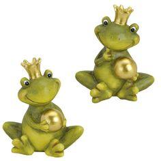 Froschkönig deko mit Kugel Gartendeko Keramik Figuren Gartenfiguren Frosch (Set) Unbekannt http://www.amazon.de/dp/B00J8N1ADQ/ref=cm_sw_r_pi_dp_-CZ0vb12CB11A