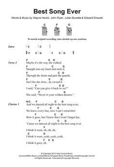 Best Song Ever Sheet MusicThe post Best Song Ever Sheet Music appeared first on Ukulele Music Info. Ukulele Songs Popular, Easy Ukelele Songs, Ukulele Songs Beginner, Ukulele Chords Songs, Guitar Chords For Songs, Piano Songs, Guitar Lessons, Guitar Tips, Ukulele Songs