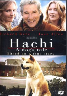 Hachi -- a movie based on true events that truly make me understand why I am a dog person. They are truly beyond loyal and better than people. You won't have a dry eye in sight but cuddle up your pup and watch this story. <3