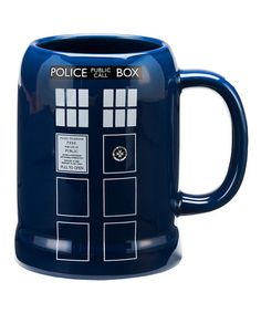 Another great find on #zulily! Doctor Who TARDIS Stein by Doctor Who #zulilyfinds