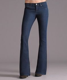 Retro Lila Flap Low-Rise Flare Jeans   Something special every day