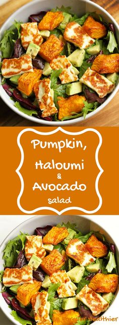 This pumpkin, haloumi & avocado salad is the perfect weekday dinner! Minimal E … – Informations About Dieser Kürbis, Haloumi & Avocado Salat ist das perfekte Abendessen unter der Wo… Pin You can easily use … Avocado Dessert, Avocado Salad Recipes, Healthy Snacks, Healthy Eating, Healthy Recipes, Keto Recipes, Oven Recipes, Simple Recipes, Sauce Recipes
