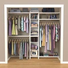 Small Closet Design, Small Master Closet, Bedroom Closet Design, Master Bedroom Closet, Small Closets, Closet Designs, Kid Closet, Closet Ideas, Master Closet Layout