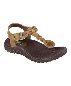 Another great find on #zulily! Brown Roots Reggae Leather Sandal #zulilyfinds