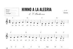 partituras para piano principiantes - Buscar con Google