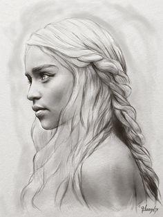 Daenerys Targaryen - Khaleesi by Uryen