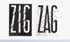 b.a.-ba design graphique zigzag