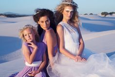 Infinity wedding dresses, bridesmaids dresses and flowergirl dresses - custom made to any length you desire. Order today: www.bridalwear.co.za