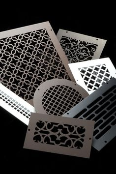 Custom Metal Registers, Vent Covers, and Air Return Grilles Air Return, Air Vent Covers, Reno, Do It Yourself Home, Custom Metal, Home Projects, Home Remodeling, Home Accessories, Home Improvement