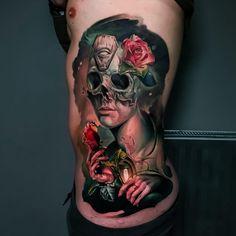 74a270d74 Colour Realism Rib Tattoo #realismtattoo #colourtattoo #skingiants  #tattooist #tattoolove #tattooed