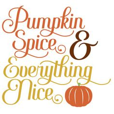 Silhouette Design Store: pumpkin spice & everything nice Silhouette Design, Silhouette Cameo, Chalkboard Art Quotes, Circuit Projects, Pumpkin Spice, Everything, Spices, Cricut, Thanksgiving